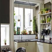 美式混搭风格公寓厨房装饰