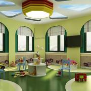 幼儿园教室飘窗效果图