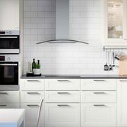 美式白色田园风格厨房设计