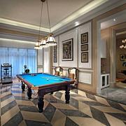 欧式风格别墅娱乐休息室设计