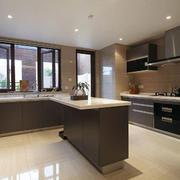 后现代简约风格厨房吧台设计
