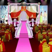中式喜庆婚礼装饰