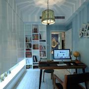 婚房书房整体书柜设计
