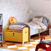 美式田园风格儿童房地板装饰