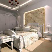 120平米房屋欧式田园风格背景墙装饰