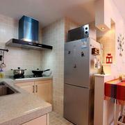 公寓厨房现代简约风格吊顶设计