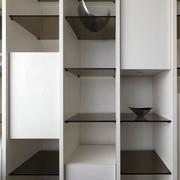 一室一厅置物架隔断设计