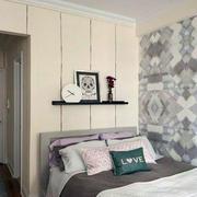 简欧卧室软包背景墙设计