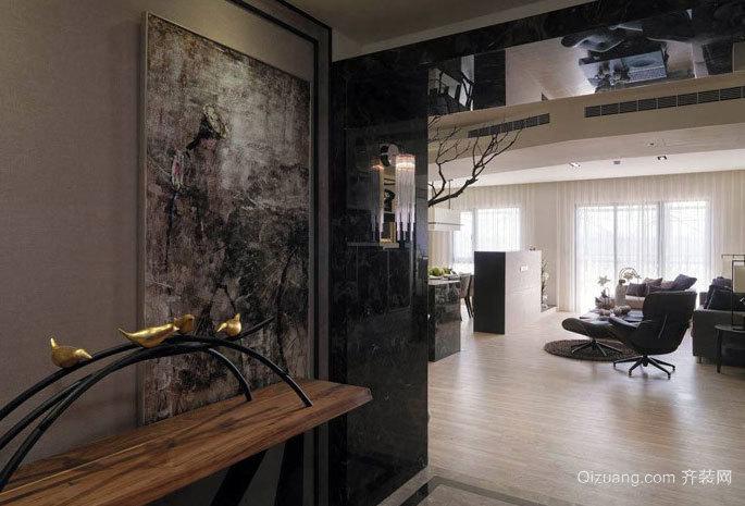 130平米充满着浓浓生活气息的现代三居公寓装修效果图