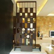 后现代风格客厅隔断设计