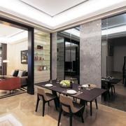 别墅后现代风格餐厅装饰
