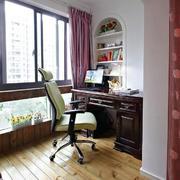 工作室飘窗装饰效果图