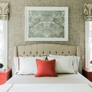 美式样板房简约风格卧室装修