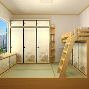 日式自然风格儿童房设计