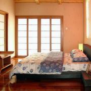 卧室简约风格背景墙设计