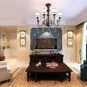 三室一厅客厅吊顶设计