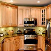 公寓小型美式整体厨房设计
