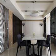 一室一厅餐厅吊顶装饰