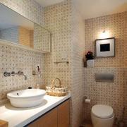 三室一厅卫生间镜饰装饰