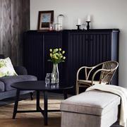 后现代风格深色沙发效果图