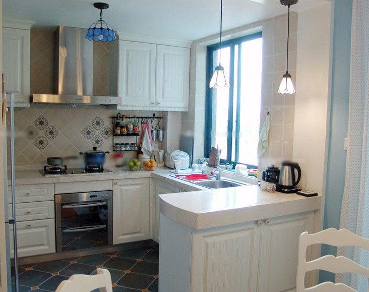 做饭如此轻快:别墅型都市豪华开放式厨房装修效果图鉴赏