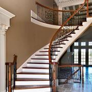 中式风格别墅楼梯装饰