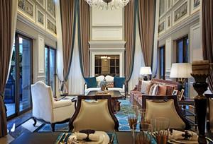 法式风格别墅客厅装修