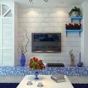 简约石膏板背景墙设计