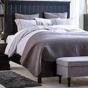 后现代风格卧室床饰效果图