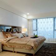 欧式新房卧室飘窗装饰