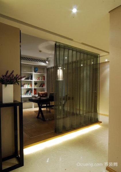 140平米混搭风格三室一厅公寓装修效果图