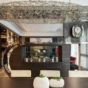 后现代风格新房客厅创意灯饰设计
