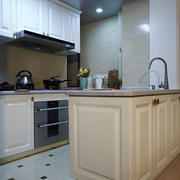 欧式整体式厨房装饰