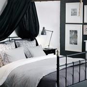 卧室简约风格背景墙装饰