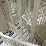 欧式奢华白玉楼梯装饰