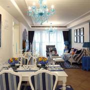 地中海餐厅背景墙装饰