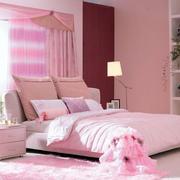 粉色甜美婚房装饰