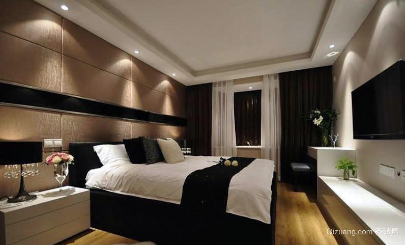 120平米大户型卧室装修效果图展示