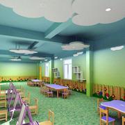 幼儿园教室背景墙装饰