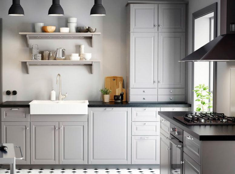 现代化高端装修设备齐全的厨房装修效果图