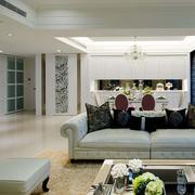 欧式风格新房客厅沙发效果图