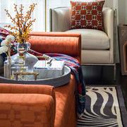 美式别墅沙发装饰