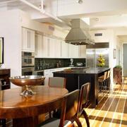 loft风格厨房效果图