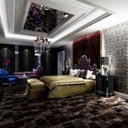 欧式奢华卧室3D风格壁纸装饰