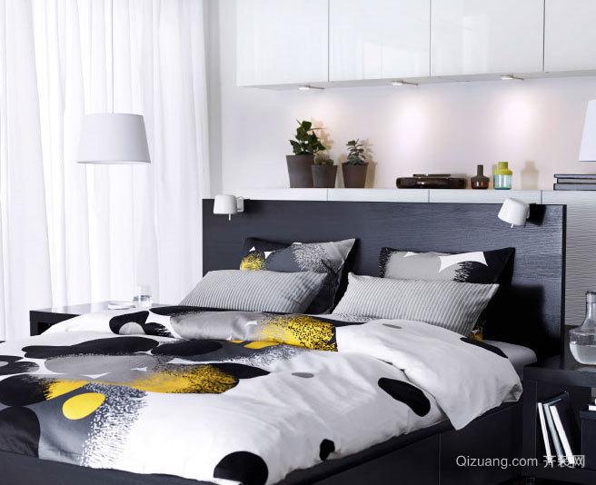 不一样的睡眠风格:后现代独具风格的卧室装修效果图