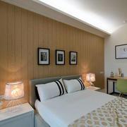 日式简约风格儿童房榻榻米床装饰