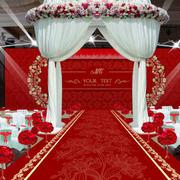 婚礼现场过道设计