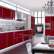 大型别墅厨柜装饰效果图