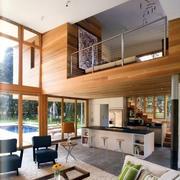 loft风格复式客厅装修