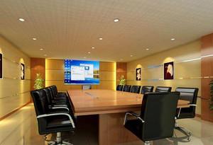 群英汇聚地:都市高档大型公司会议室设计效果图鉴赏